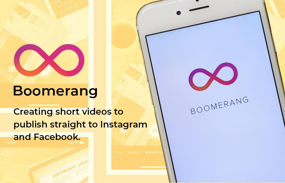 Boomerang app logo