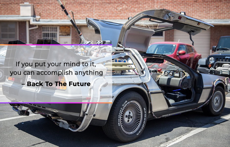 Delorean from Back To The Future