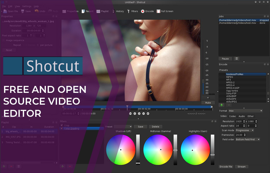Shotcut Video Editing Software
