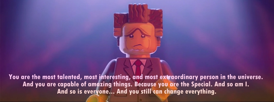 Lego Movie quote