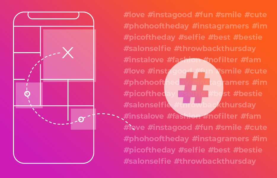 The explore page and hashtags