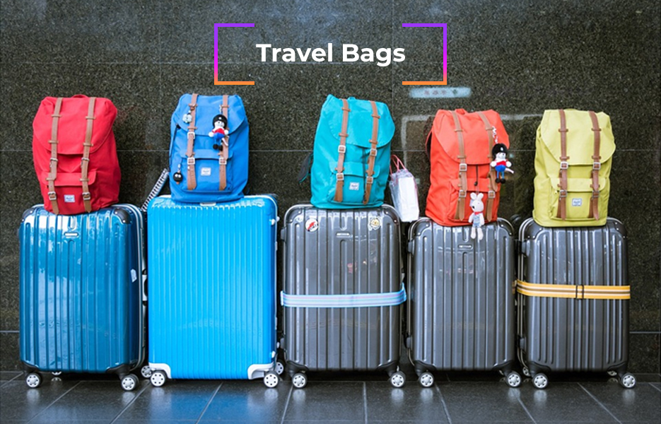 Travel bags, suitcases, luggage