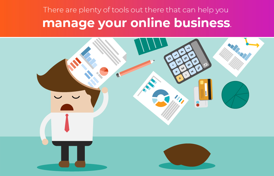 how to manage your online business