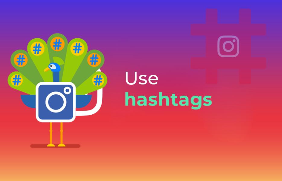 use hashtag