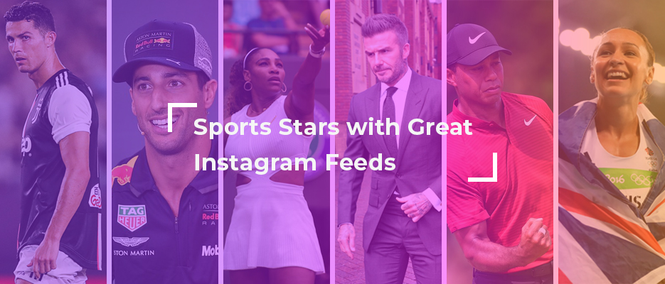 Sports stars with great Instagram feeds