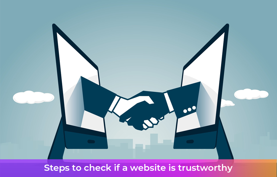 Steps to check if a website is trustworthy