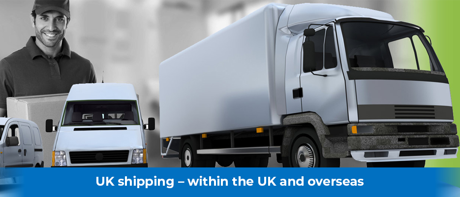 UK shipping – within the UK and overseas