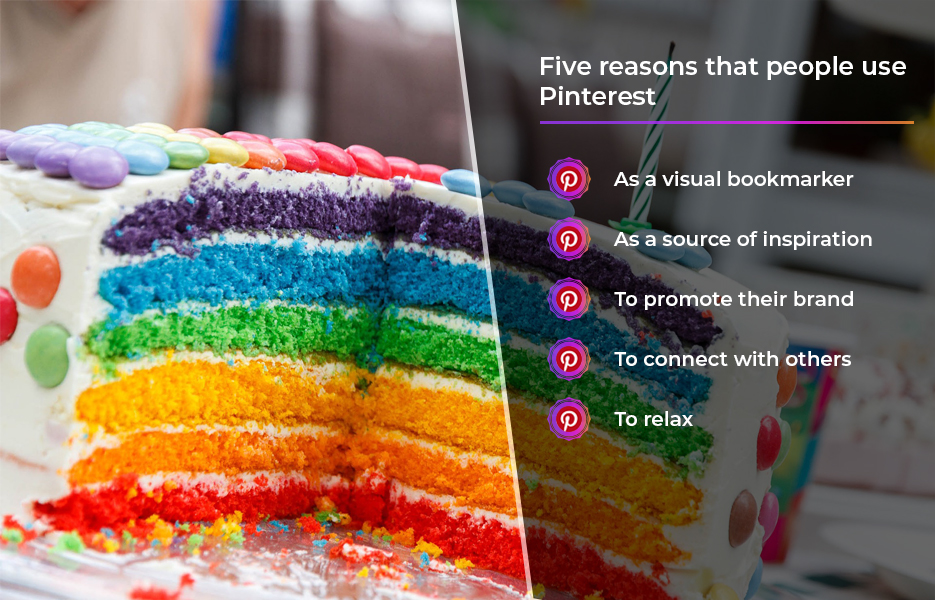 five reason to access pinterest