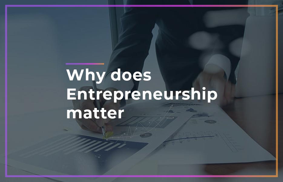 Why-does-entrepreneurship-matter