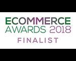 eCommerce Awards Finalist 2018
