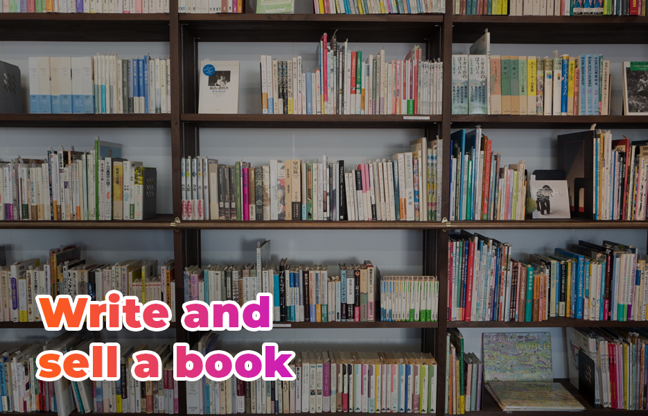Write and sell a book