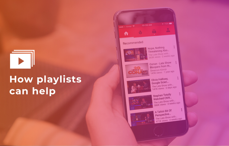 How playlists can help