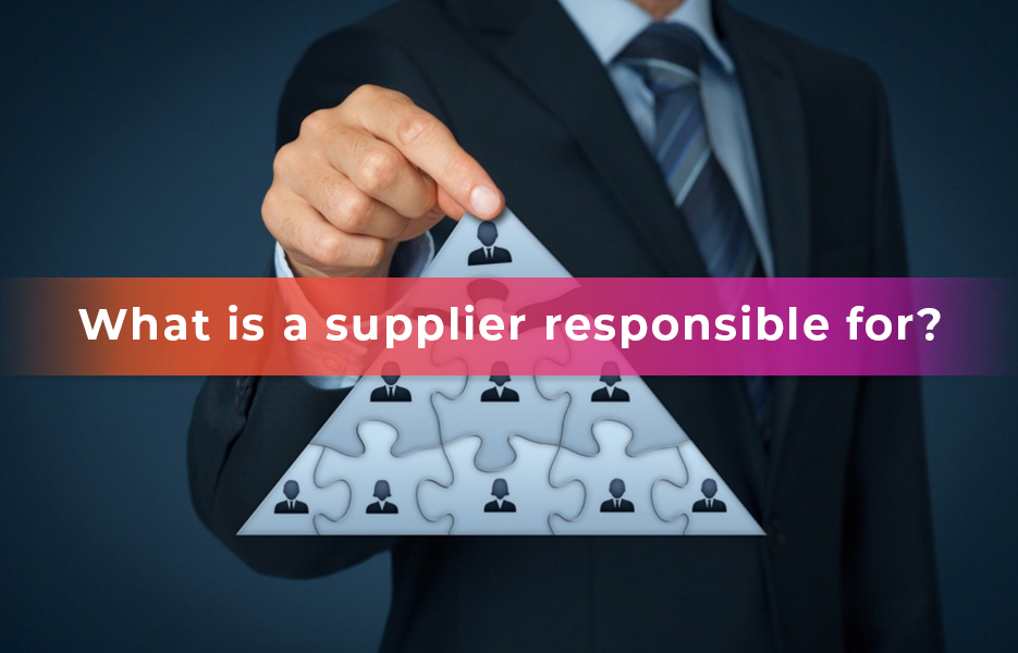 What-Is-A-Supplier-Responsible-For