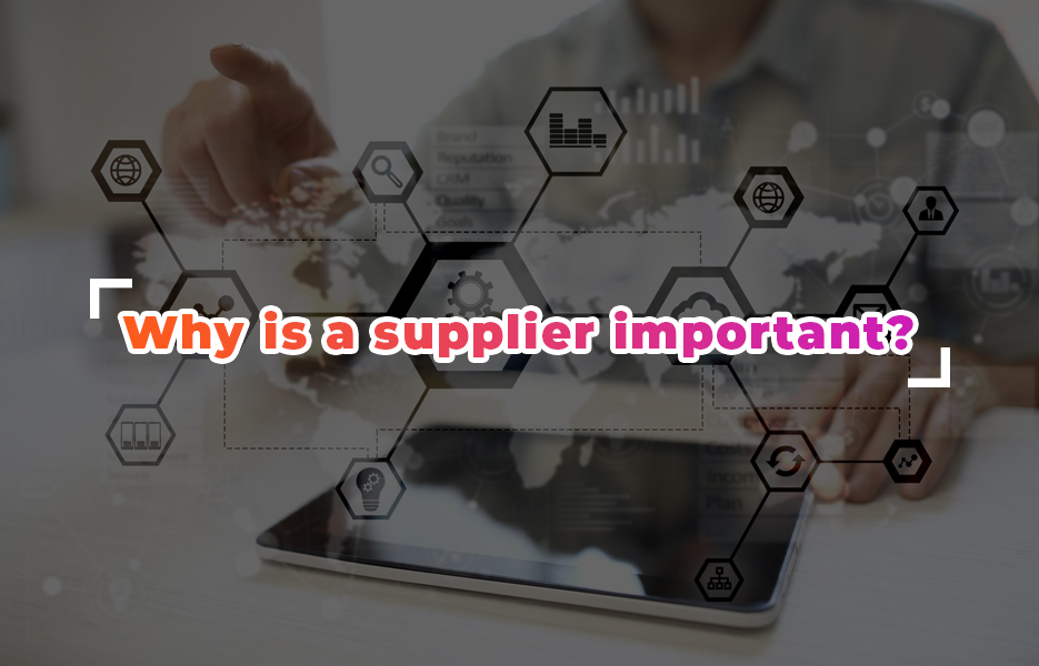 why-is-a-supplier-important