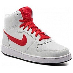 Basketball Shoes For Adults Nike Ebernon Mid White Red 44 5