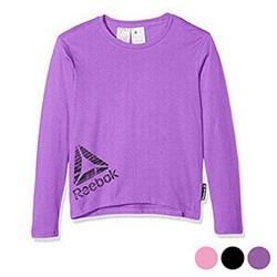 Children-S-Long-Sleeve-T-Shirt-Reebok-G-Es-Ls-Tee-Black-S1-Avasam