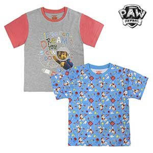 Child S Short Sleeve T Shirt The Paw Patrol 72675 6 Years