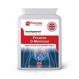 D Mannose Prowise 500mg 90 Capsules By Prowise Healthcare