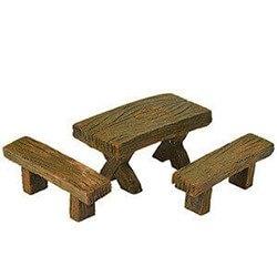 Fairy Garden Bench & Table