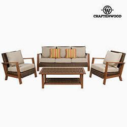 Garden Furniture 4 Pcs Resin