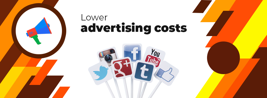 Lower-advertising-costs