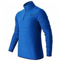Men S Long Sleeve T Shirt New Balance Mt53030 Btl Blue S