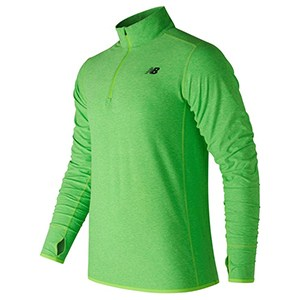 Men S Long Sleeve T Shirt New Balance Top Space Green S