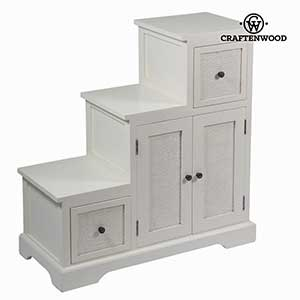 Occasional Furniture Mindi Wood White 88 X 37 X 90 Cm Let S Deco Collection By Craftenwood