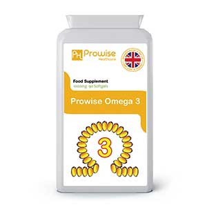 Omega 3 1000mg 90 Capsules By Prowise Healthcare