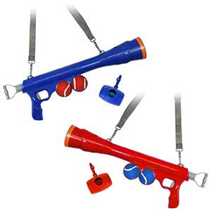 Pet Living Tennis Ball Launcher Gun Random Colour