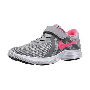 Running Shoes For Kids Nike Revolution 4 Grey Pink