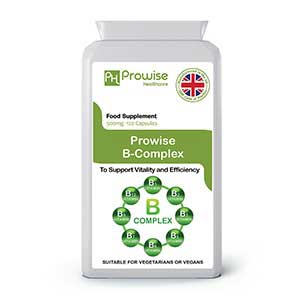 Vitamin B Complex 2000mg 90 Capsules By Prowise Healthcare