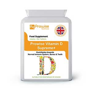 Vitamin D 1000iu 180 Tablets By Prowise Healthcare