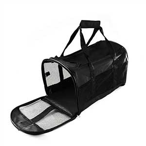 Zz Collapsible Pet Carrier Black Mx 11041