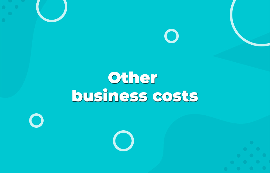 Other business costs