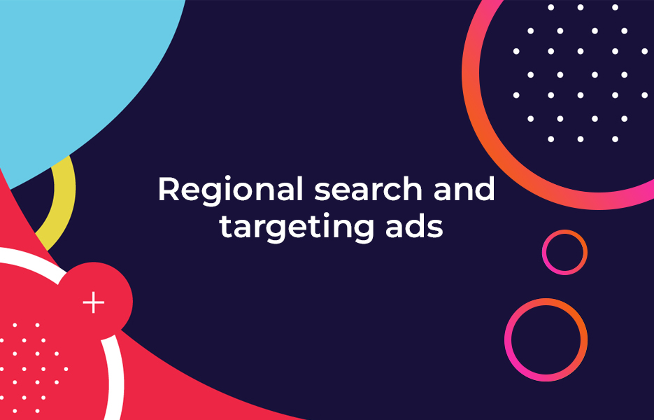 Regional search and targeting ads