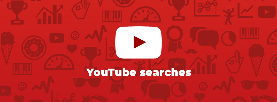 YouTube-searches