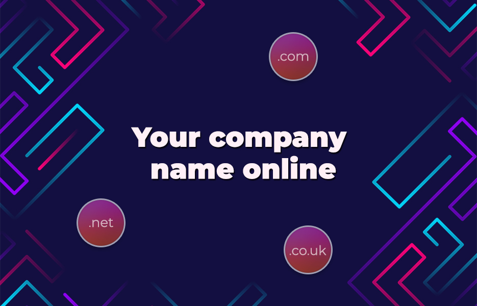 Your company name online