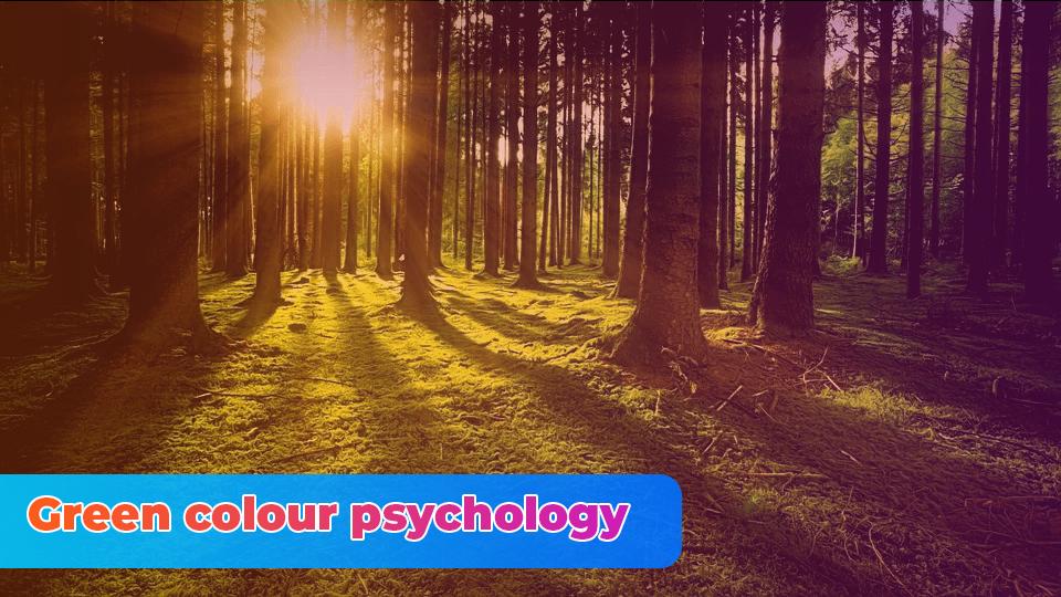 Green colour psychology
