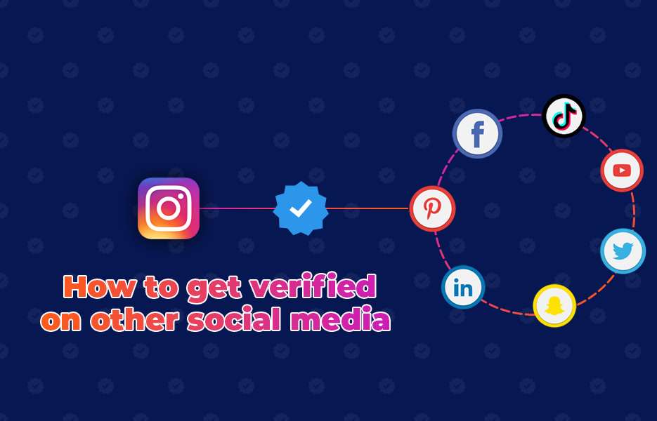How to get verified on other social media