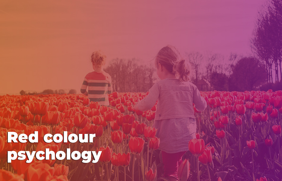 Red colour psychology