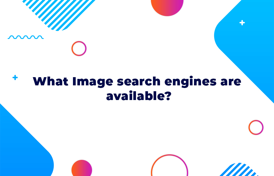 What Image search engines are available