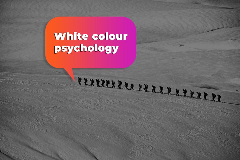 White colour psychology