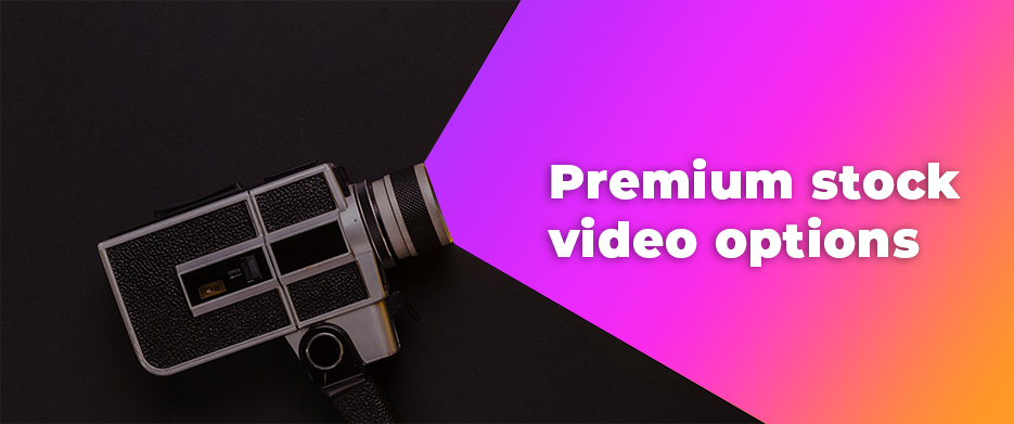 Premium stock video options