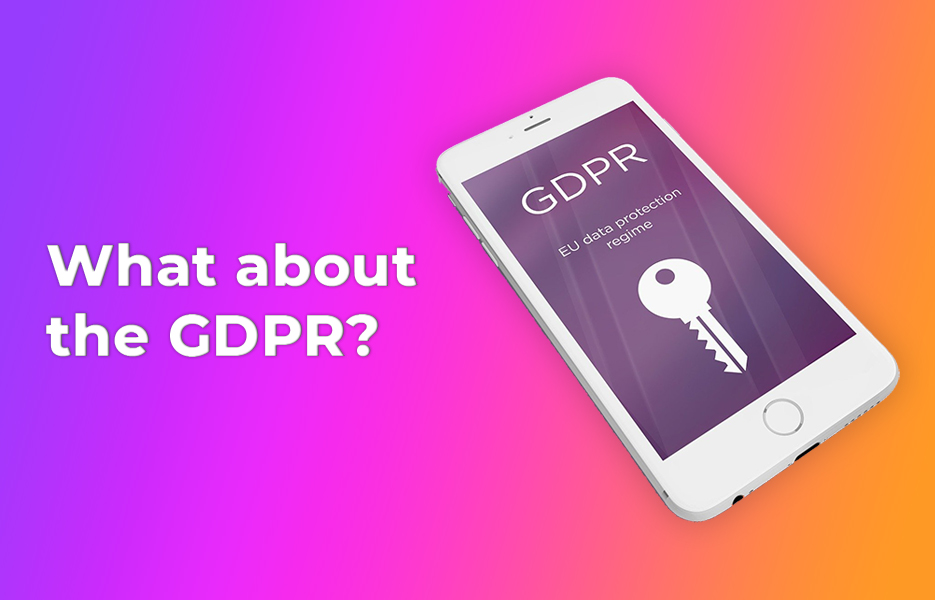 What about the GDPR