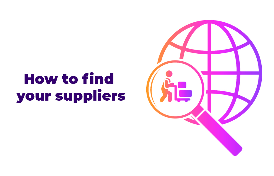 How to find your suppliers