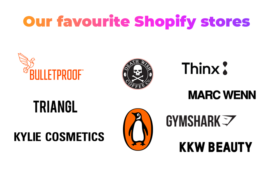 Our 9 favourite Shopify stores