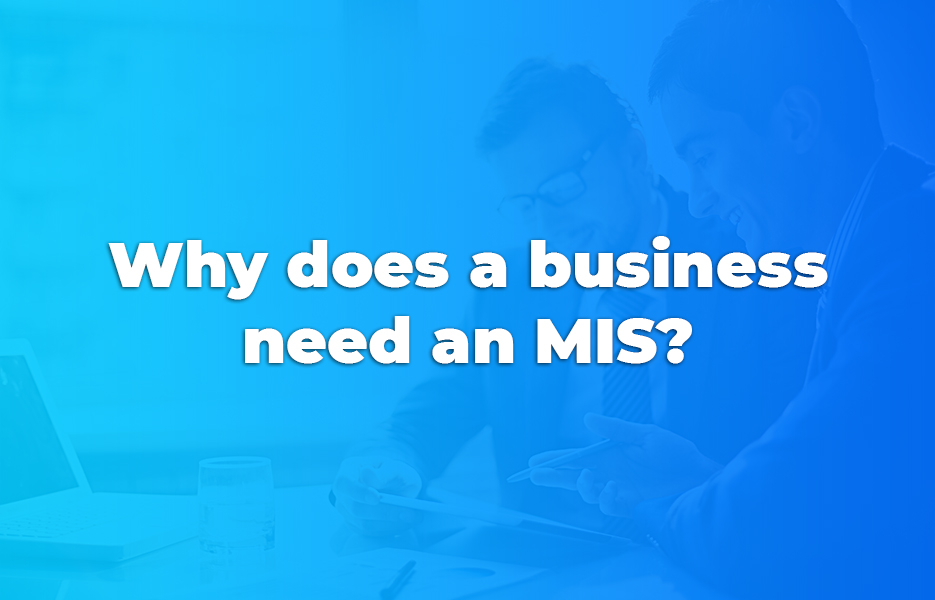 Why does a business need an MIS