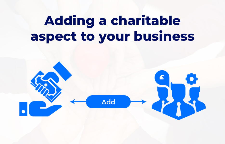 Adding a charitable aspect to your business