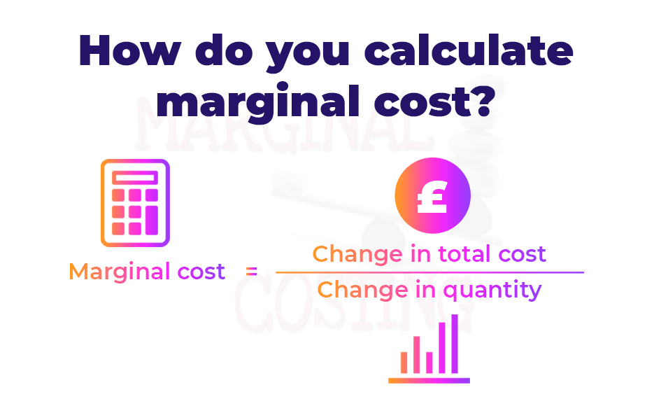 How do you calculate marginal cost